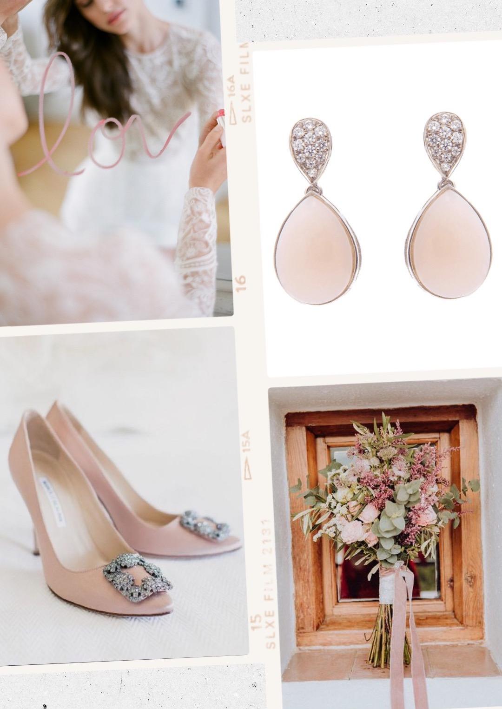 pendinetes de novia estilo princesa