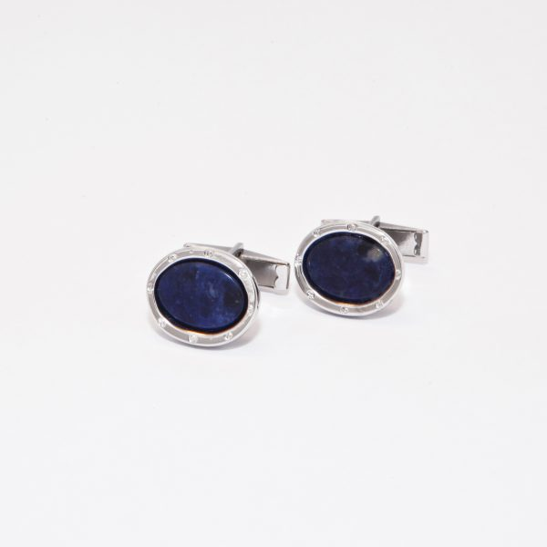 gemelos elegance lapislazuli color azul