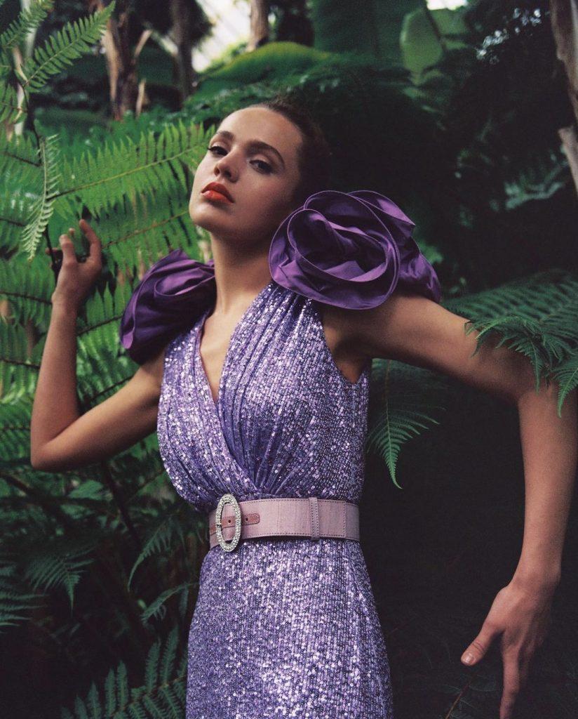 ideas invitada comunion color lila